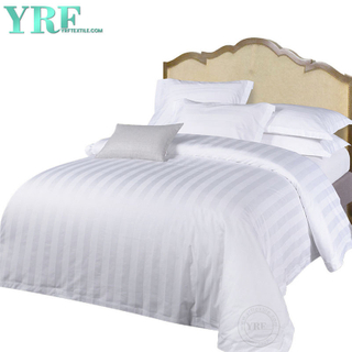 White Hotel Bedding 400 thread count Striped Cal Koning